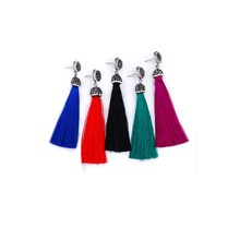 New arrivals 2018 wholesale cheap fashion jewelry tassel women earring