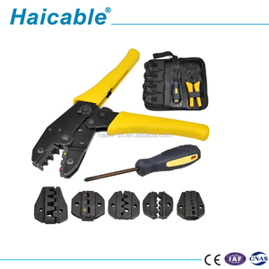LXK-30JN New Magnetic Telecom Tool Set-Crimping Tool Group Cheap Tool Kit