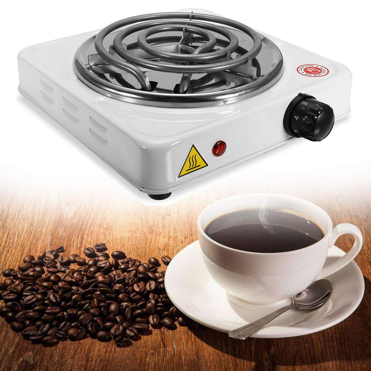 1000W Electric Stove Hot Plate Burner Travel Cooking Appliances Portable Warmer Tea Coffee Heater SINGLE ITEM