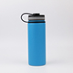 18 oz Double Wall Insulated Stainless Steel vacuum termos flask sports hydro water bottle with flex cap