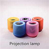 Hot selling electronic Europe plug plastic cup LED candle lamp