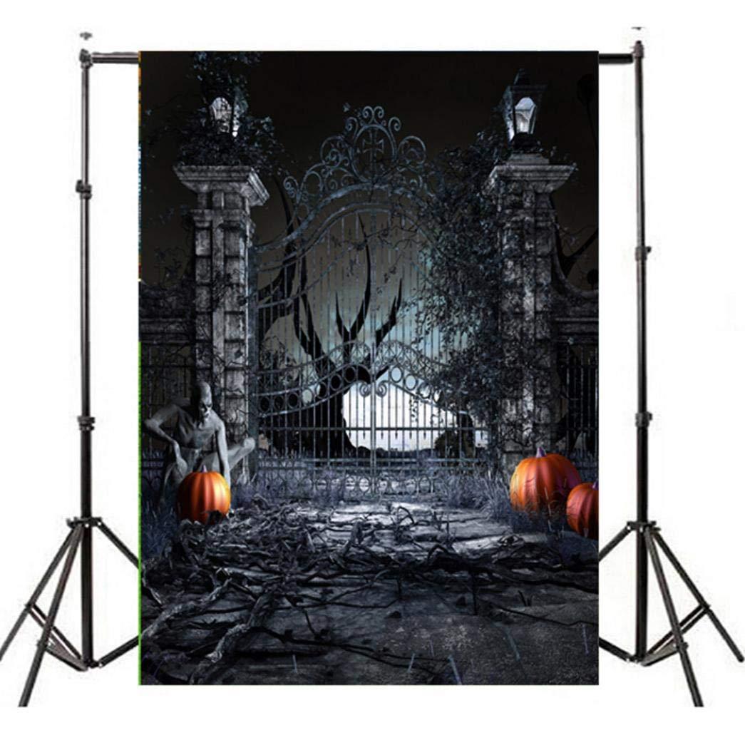 Yoyorule Halloween Backdrops Lantern Background Photography Studio Decoration 5x3FT