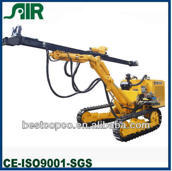 Bore dia 90-165mm rock killer- open air DTH drilling rig HCM451