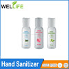 Promotional mini size liquid waterless automatic scented hand sanitizer