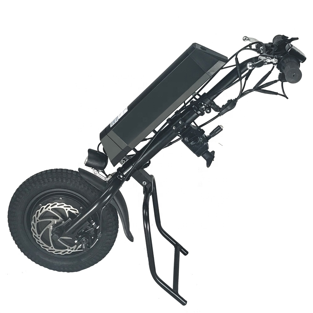 36v 500w high torque upgrade electric wheelchair attachment handcycle for sale