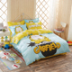 100% cotton kids bedding set wholesale cartoon character bedding