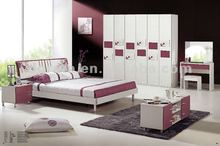 2012 new design classic adult bedroom furniture with MDF board and painting