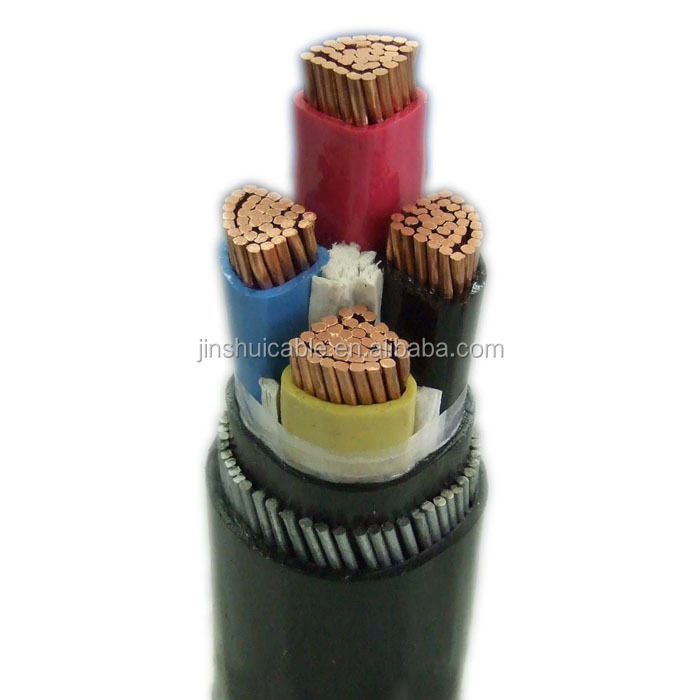 Low Voltage Underground 4 Core Armoured Cable 70MM