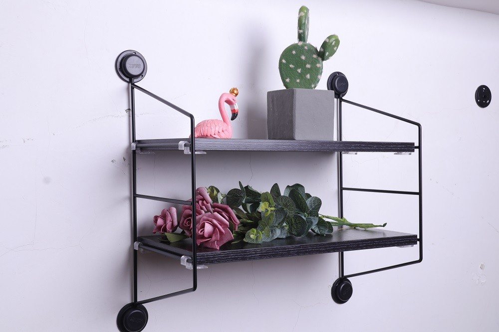 Phenomenal Wall Mounted Floating Shelves Industrial Display Rack Wall Shelf Ledge Wall Wood Storage Shelves For Room Kitchen Office View Wall Shelf Huixuan Download Free Architecture Designs Lukepmadebymaigaardcom