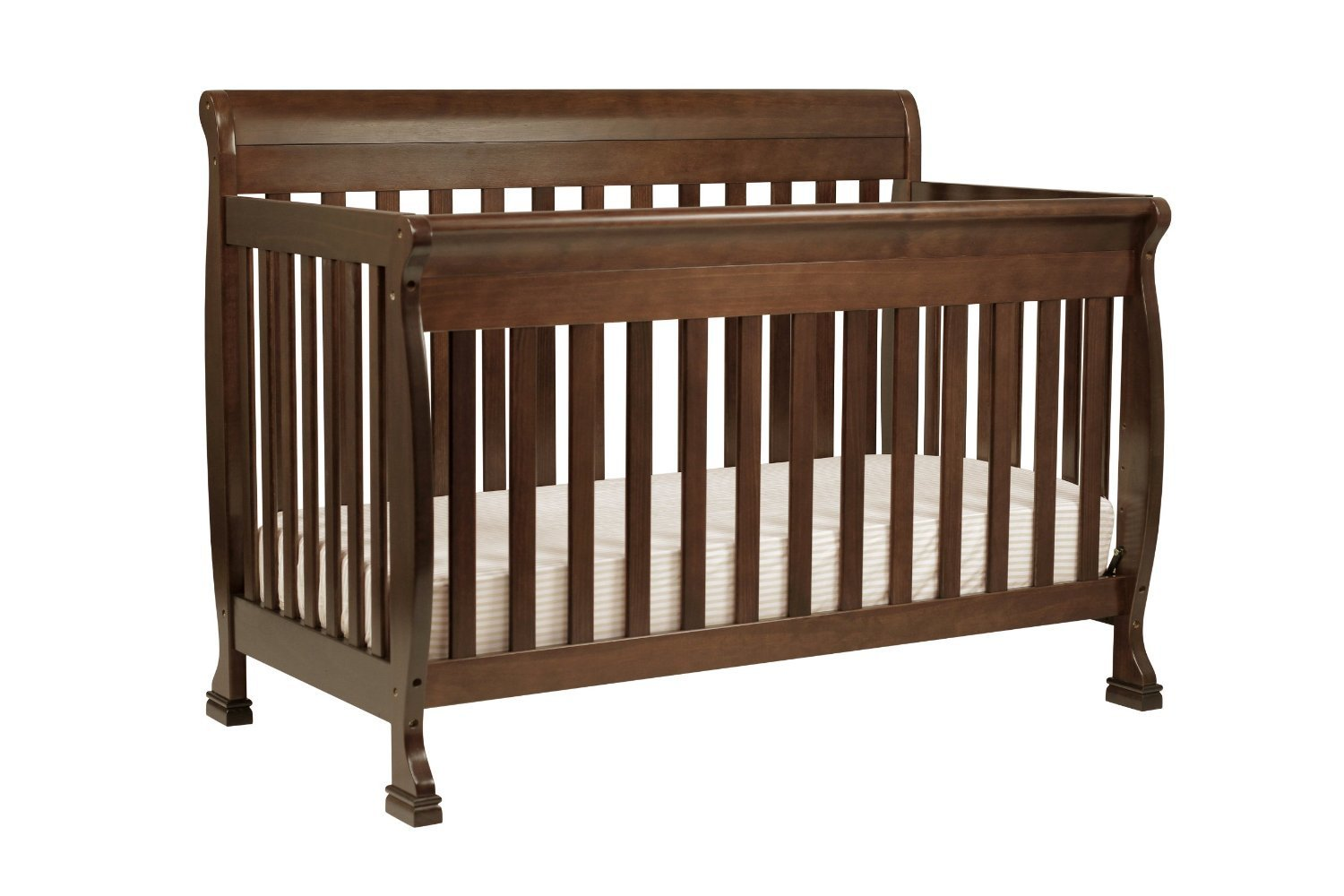 Premium Baby Crib Convertible Furniture Cribs 4 In 1 Davinci Toddler Cot  Modern Nursery Solid Wood