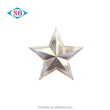 China wholesale cheap 3D custom five gold star metal lapel pin