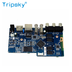 Best Selling Rk3128 PCBA 1G Ram 8G Rom Android 4.4 Usb 2.0 Android TV Box Motherboard