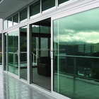 aluminum framed latest design industrial windows with insulated or tempered doors glass
