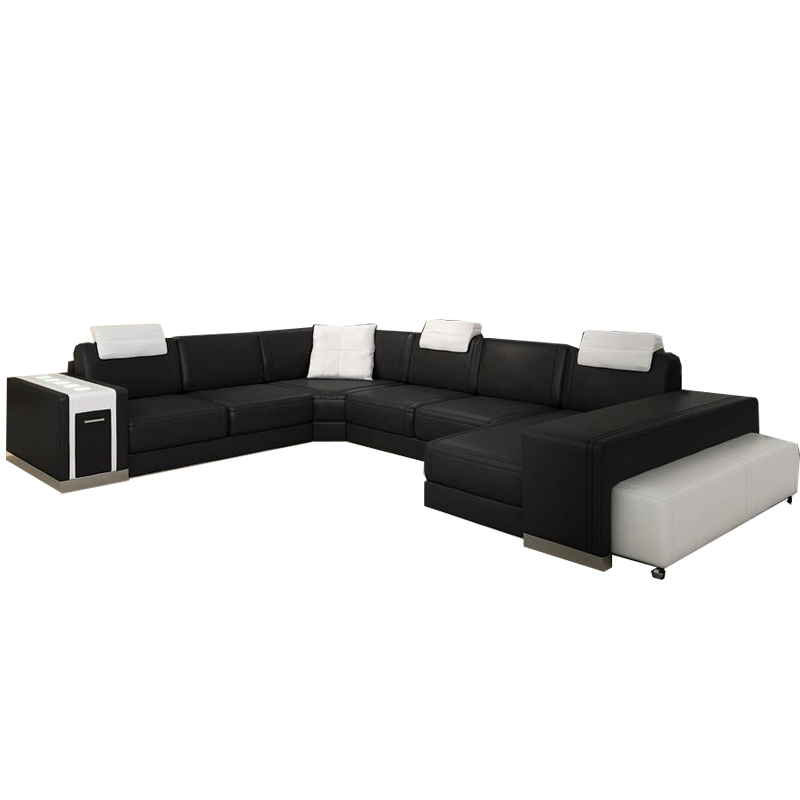 Arabic Living room modern leather <strong>sofas</strong> wholeasale stainless steel living <strong>sofa</strong>