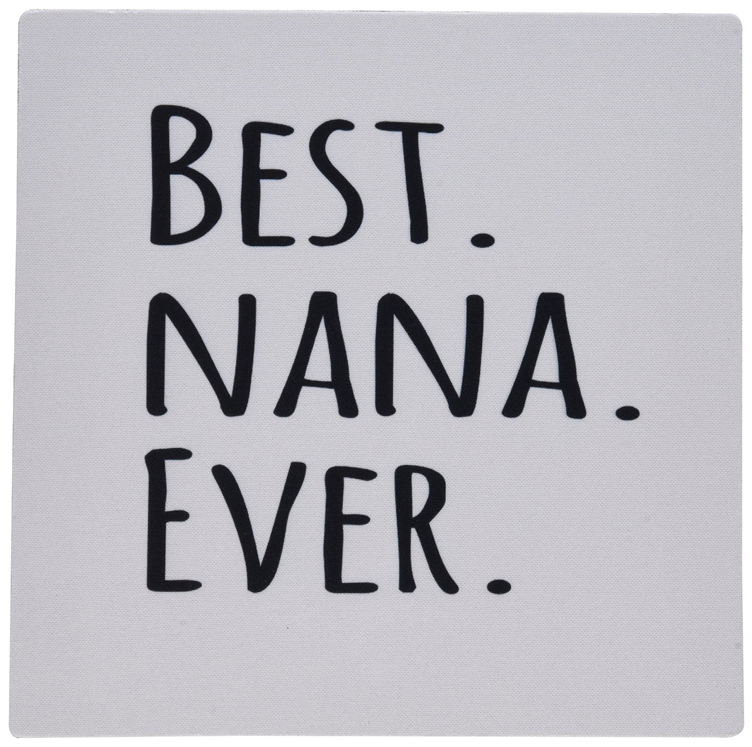 get quotations 3drose llc 8 x 8 x 025 inches mouse pad best nana ever gifts for