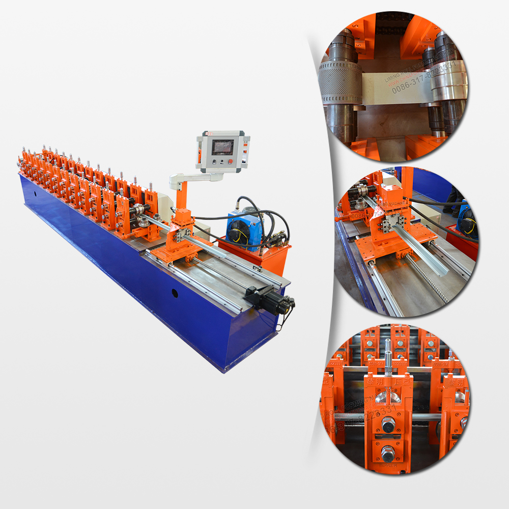 Steel keel light frame gauge sheeting auto roll forming machine manufactures
