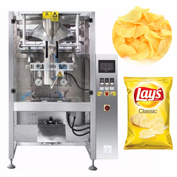 High quality automatic multi-function food packaging potato chips packing machine