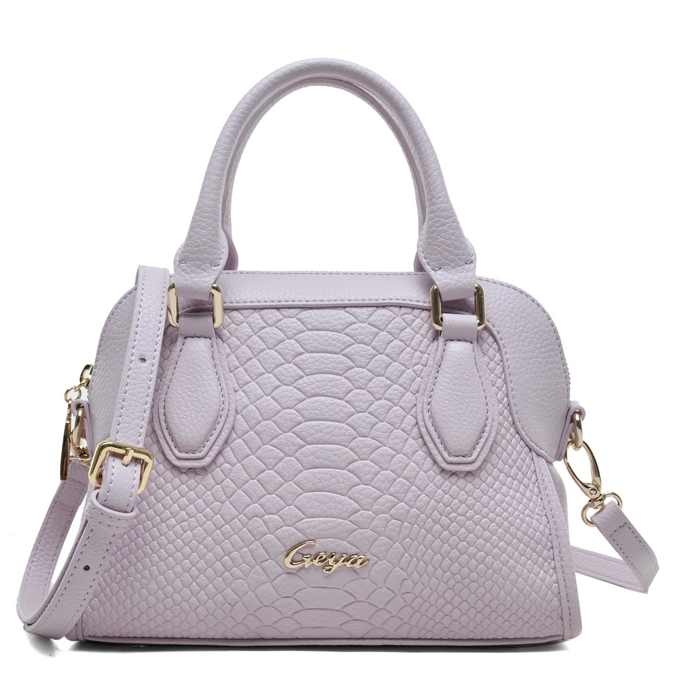 Top 10 brand fashion leather  women  handbag with snake material