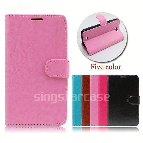 For Acer Liquid Z220 Wallet CaseLeather Magnetic Flip Case Cover