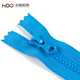HOO big teeth plastic zippers wholesale custom color 3# 5# 7# zipper pulls resin zips close end for cycling clothes