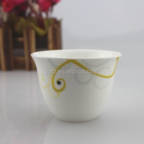 2016 China best sale colorful ceramic cawa cup wholesale