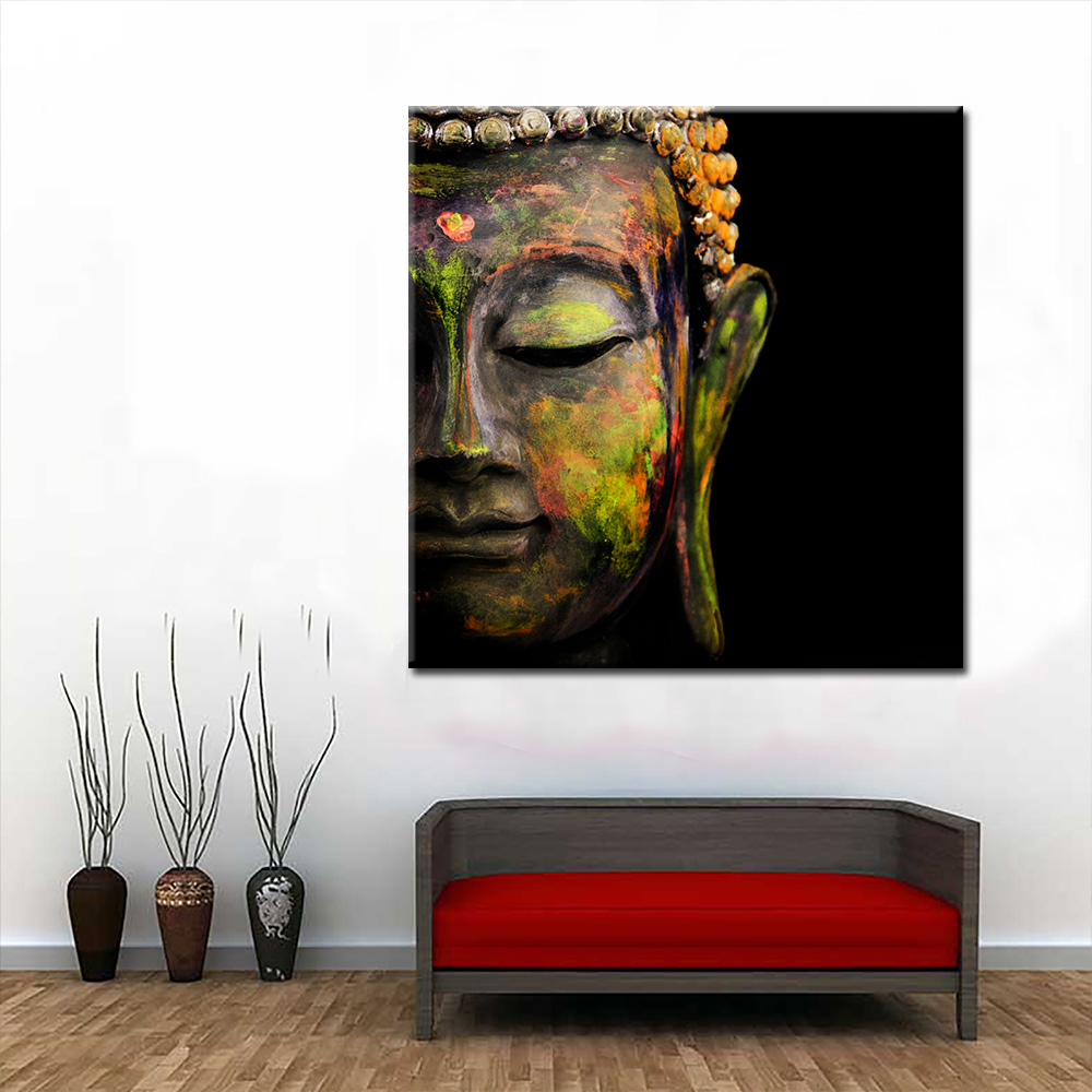 Buddha painting Traditional Culture Canvas wall Art Print Painting Poster Picture For Living Room Home Decor