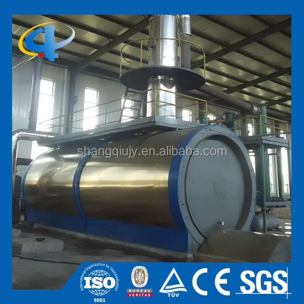 Regeneration Engine Oil Distillation Machine to Get Diesel Oil