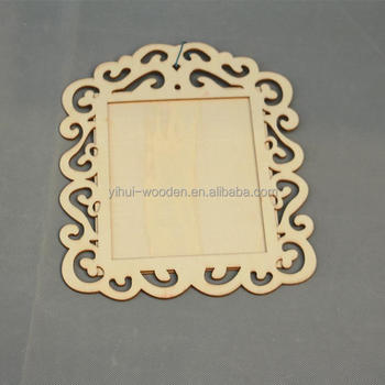 Square Shaped Cheap Unfinished Mini Funny Plywood Photo Picture Frame - Buy  Cheap Small Picture Frames,Mini Wood Photo Frame,Mini Photo Wood Frame
