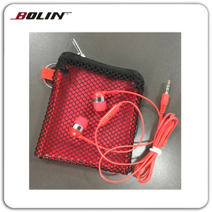 Rotatable Using Non-Woven Bags Earphones With Mic With Factory Price