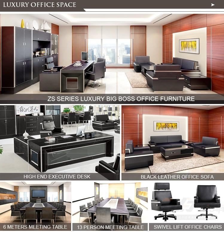 2017 De Luxe Custom Made Moderne Bureau Exécutif Bureau Chef De La ...