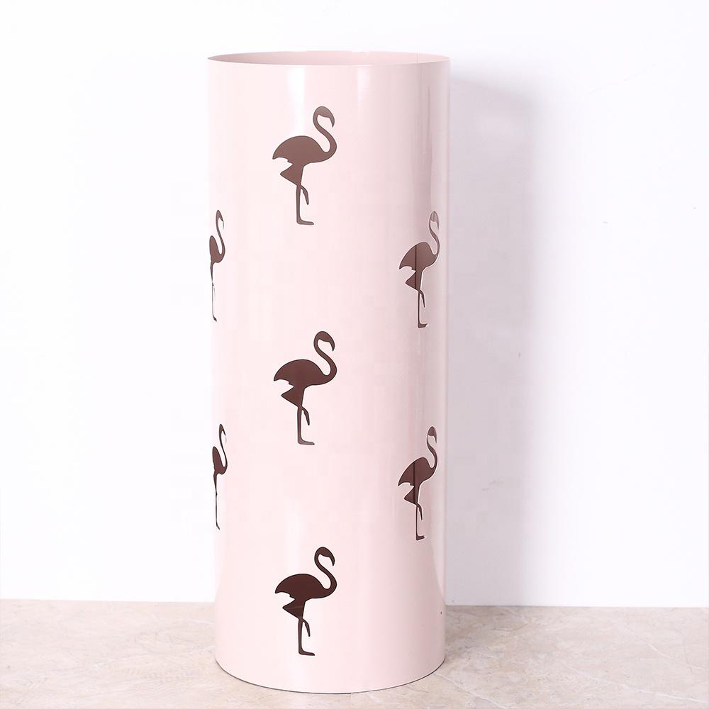 Новое поступление круглой формы лист дизайн металлический Утюг зонтик стойки подставки