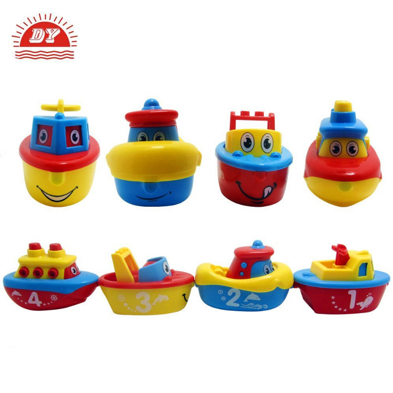 Bath toys plastic kids boats for pool