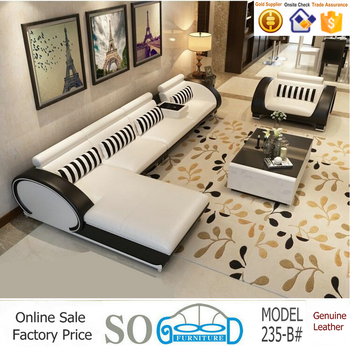 Top Quality Low Price Furniture Modern Sofa Set Leather