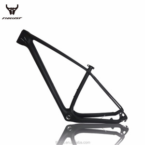 Hot frame 19-17 inch Thrust bicycle carbon frame mountain bike dic brake Foldable pedals MTB road bike