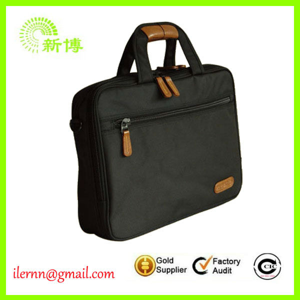 Free design hot sale famous brand mens business bag
