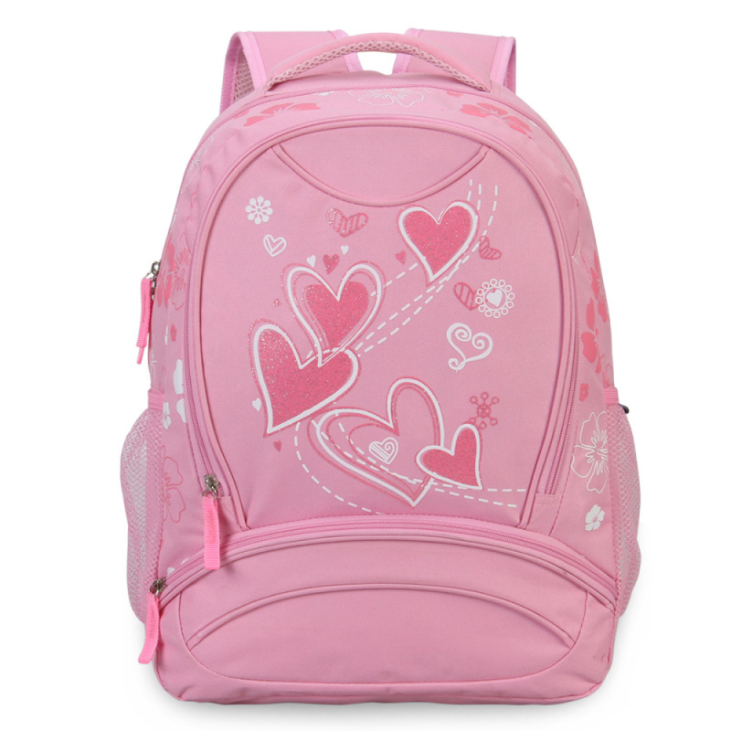4c5616f862aa Get Quotations · VN Heart Printing Backpacks Herschel School Bags For  Teenagers Unisex Book Bag Student Backpack For Girls