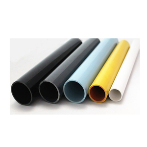 Manufacturer Price Rounded Plastic Tube ABS PC PVC Pipe/tube for any size
