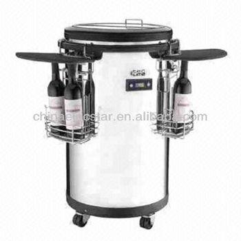 portable refrigerators with wheels commercial round barrel. Black Bedroom Furniture Sets. Home Design Ideas