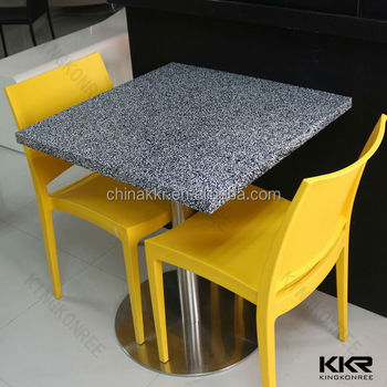Marble Bar Table / Tall Bar Table And Chairs / Kitchen Bar Table