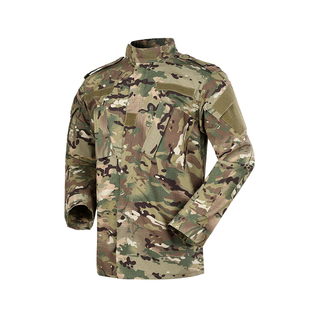 Security Guard Jurk/Uniform CP Twill Camouflage Jacht Kleding