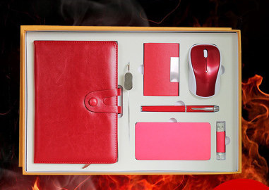 Custom Luxury Giveaways Corporate Business Gift Set Power Bank Gift Set