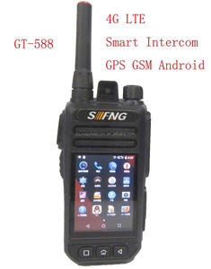 LTE 4G smart phone with PTT function GPS Android radio POC network intercom
