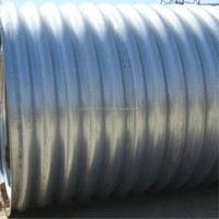 Galvanized Large Diameter Corrugated Steel Pipe