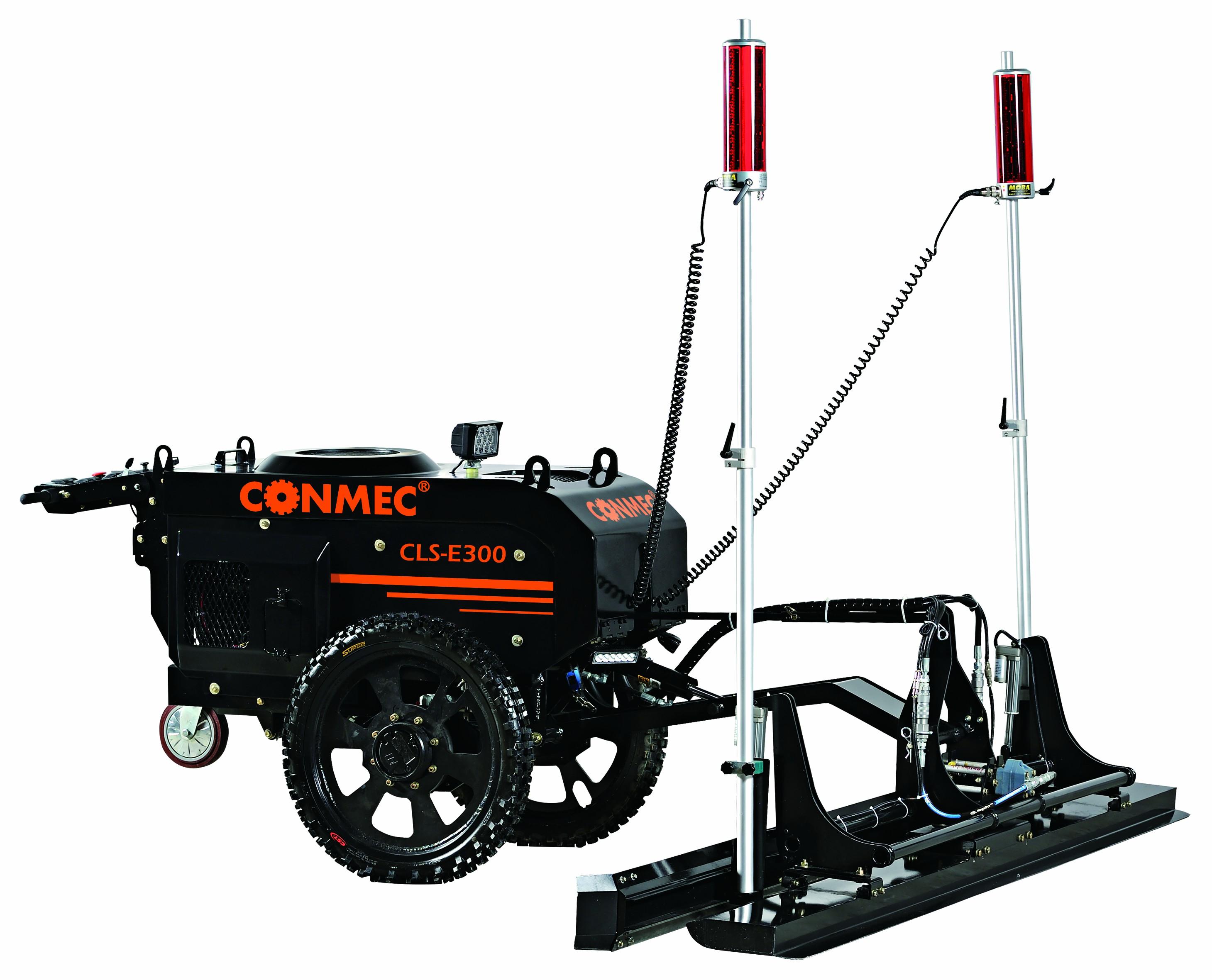CONMEC Поставщик качество лазерный для бетона Стяжка с Kohler CH440 двигатель и противоскользящие шины Прокол