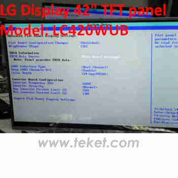 """Lg 47"""" 47inch Led Panel Wled Led Backlight Lc470due,Lc470duf ..."""