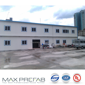 pre-painted light-steel H steel frame structure prefabricated steel building india
