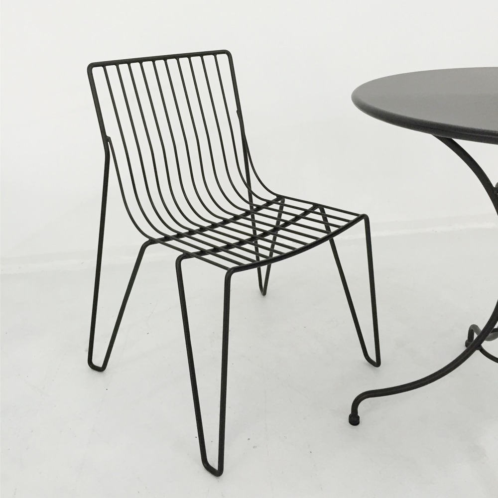 Outdoor Solid Metal Wire Frame Patio