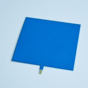 10*10cm paper thin el backlight with DC 12 V inverter for decoration