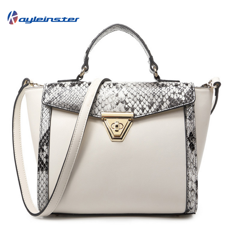 Fashion Famous Brand Composite Leather Women Handbag 2015 New High Quality  Leather serpentine Trapeze Women Single Shoulder Bag 39cb0bd50a654