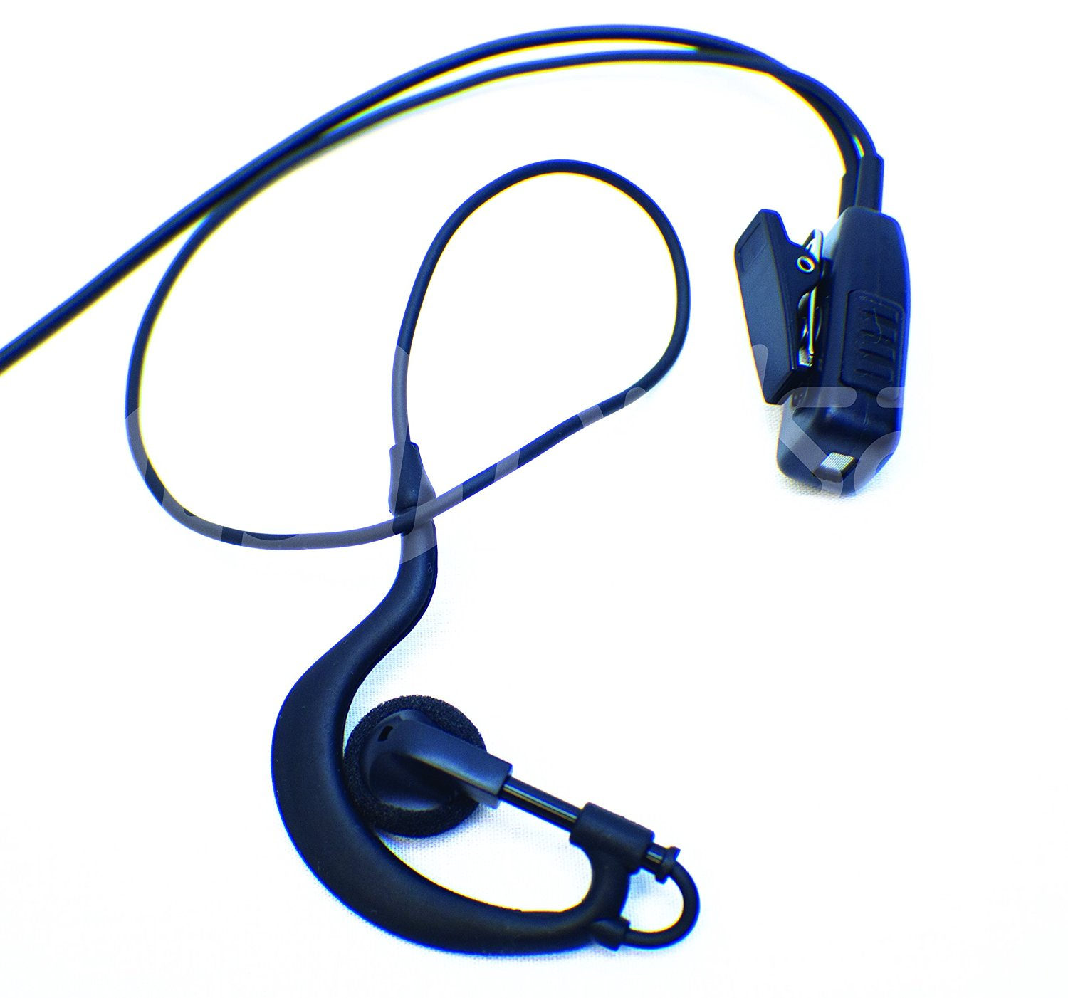 CLW 2-Pin Earpiece Headset Mic PTT For Motorola CB Radio CP88 CP040 CP100 CP110